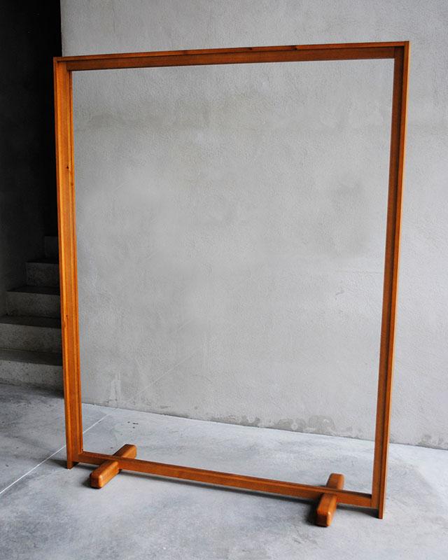 Mampara doble marco Monolito