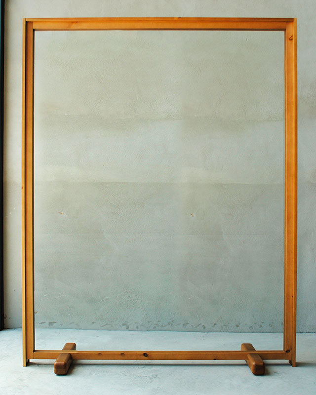 Mampara doble marco frontal Monolito