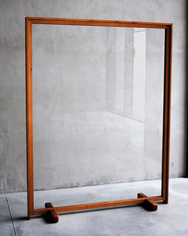 Mampara doble marco perfil Monolito