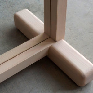 Union base marco mampara rectangular Monolito